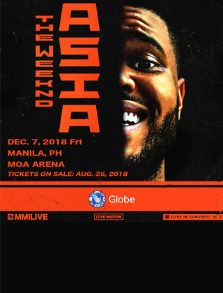 Get Your Hands on Tickets for The Weeknd in Manila via the #GlobeTheWeeknd Exclusive Pre-Sale!